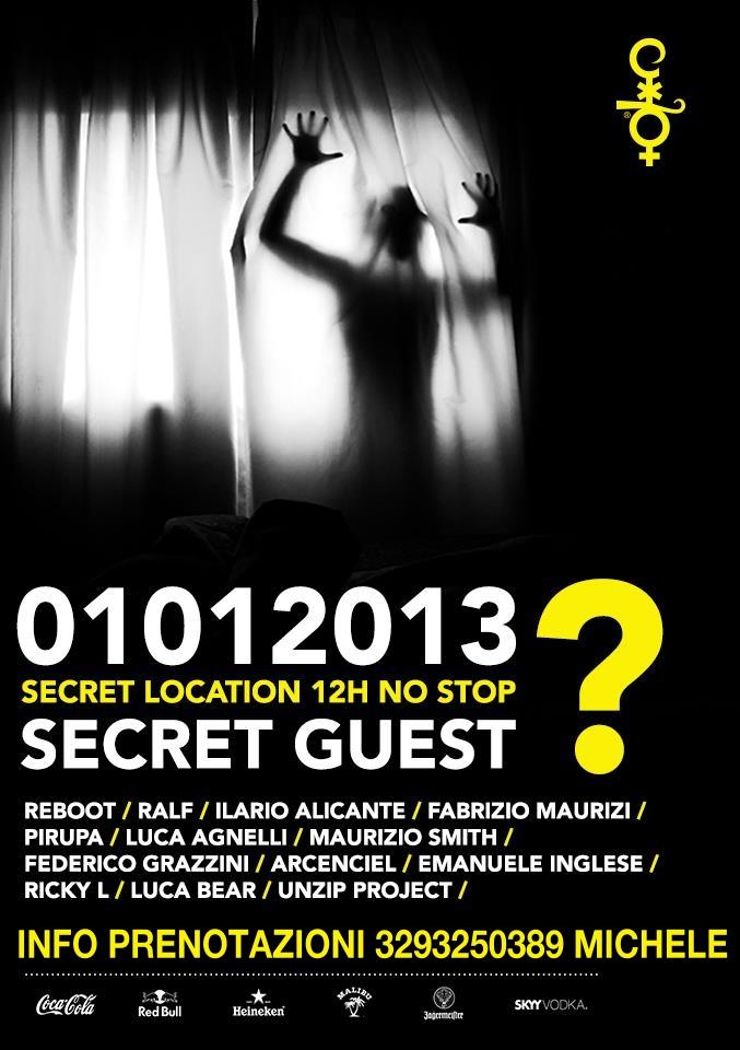 01 GENNAIO 2012 AFTER RICCIONE COCORICO SECRET LOCATION