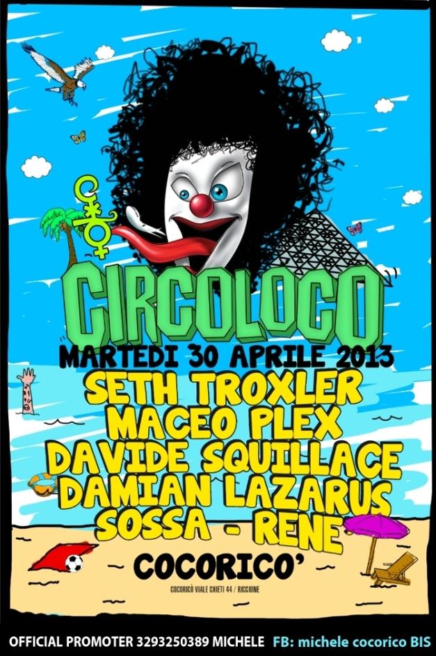 cocorico CIRCOLOCO 2013