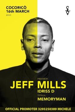 jeff mills cocorico16 marzo