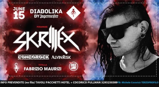 skrillex cocorico 2013