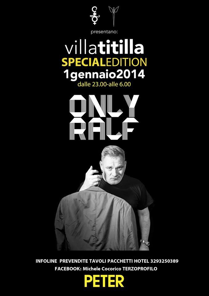 1 GENNAIO 2013 PETER PAN VILLATITILLA E COCORICO DJ RALF