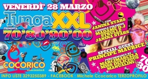 28 MARZO 2014 COCORICO TUNGA PARTY XXL