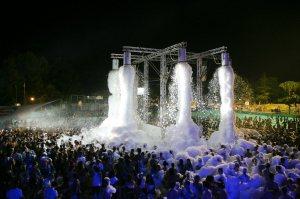 schiuma party aquafan