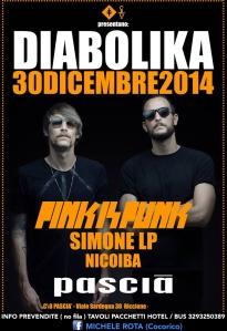 diabolika pascia riccione 30 dicembre 2014 pink is punk