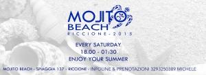 aperitivo in spiaggia Riccione Mojito Beach