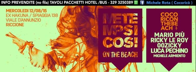 metempsicosi on the beach 12 08 2015