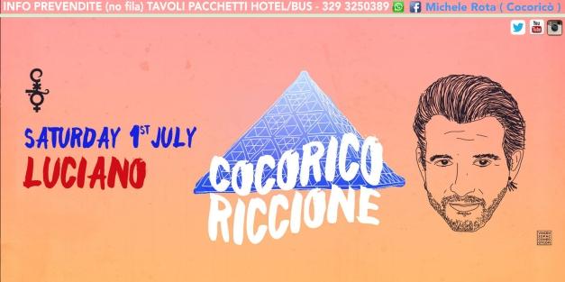 cocorico 01 07 2017 luciano ticket tavoli pacchetti hotel