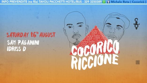 sam paganini cocorico 26 08 2017