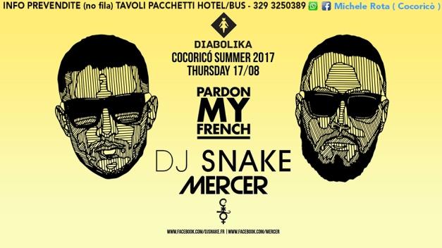 dj snake cocorico riccione 17 08 2017