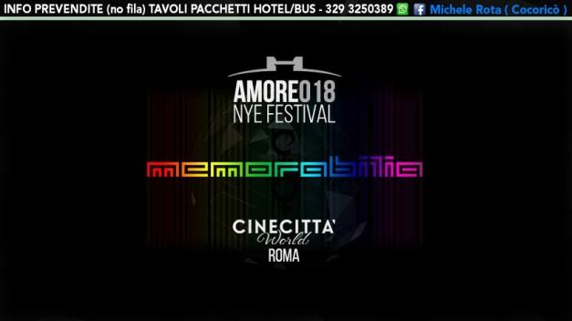 memorabilia amorefestival 2018