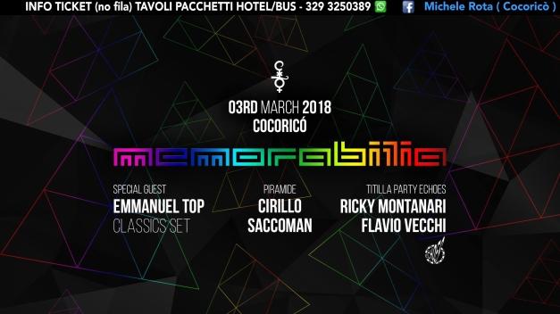 memorabilia cocorico 03 Marzo 2018