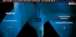 adam beyer cocorico 11 agosto 2018 ticket tavoli pacchetti hotel