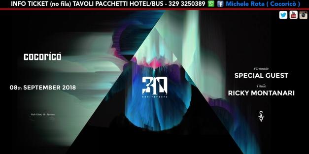 cocorico 08 settembre 2018 ticket tavoli pacchetti hotel