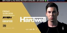 hardwell cocorico riviera 13 agosto 2018 ticket tavoli pacchetti hotel