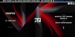 marcel dettmann cocorico 09 giugno 2018 ticket tavoli pacchetti hotel
