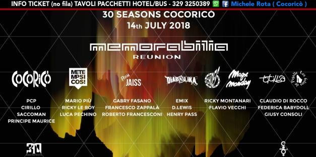 memorabilia cocorico 14 luglio 2018