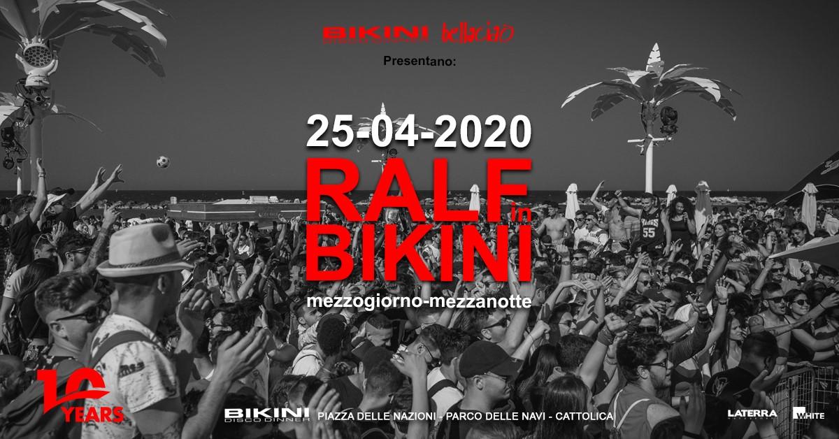 ralf in bikini 25 aprile 2020
