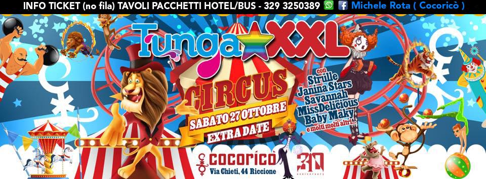 tunga xxl cocorico 27 ottobre 2018